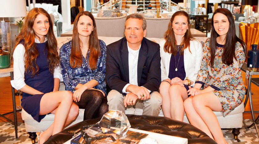 Walter E. Smithe III, the companyu2019s president, and his four beautiful, charming, and ...