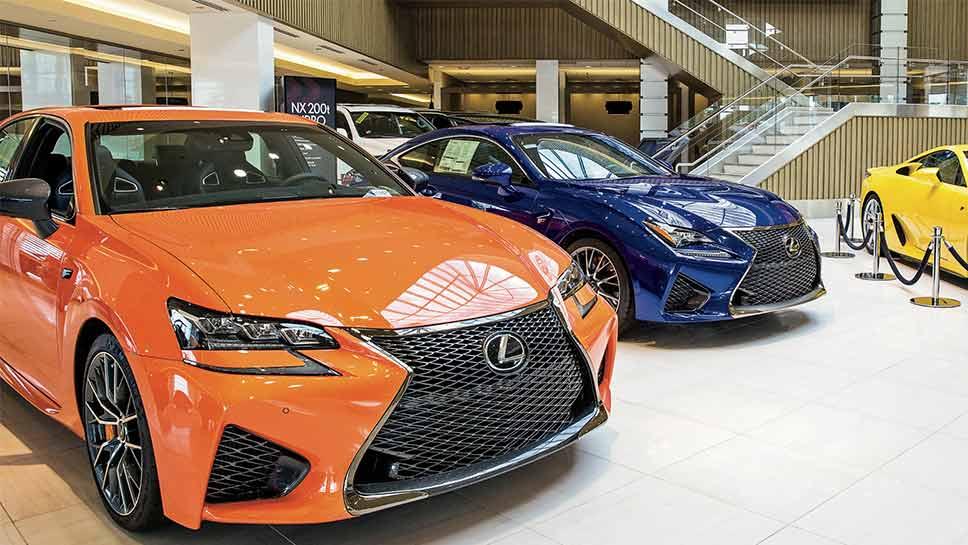 Arlington Heights Lexus >> The world's largest Lexus dealership