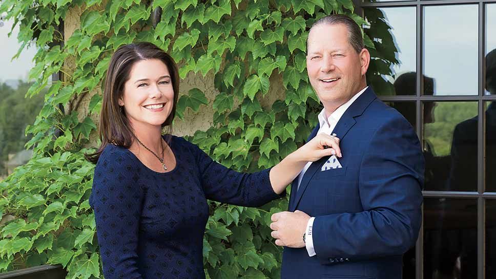 Barrington's Richard and Stephanie Miller will co-chair Casino Night on Friday, October 14 at Medinah Country Club benefitting Inverness-based non-profit PHD (Preservation of Human Dignity). PHOTOGRAPHY BY ROBIN SUBAR