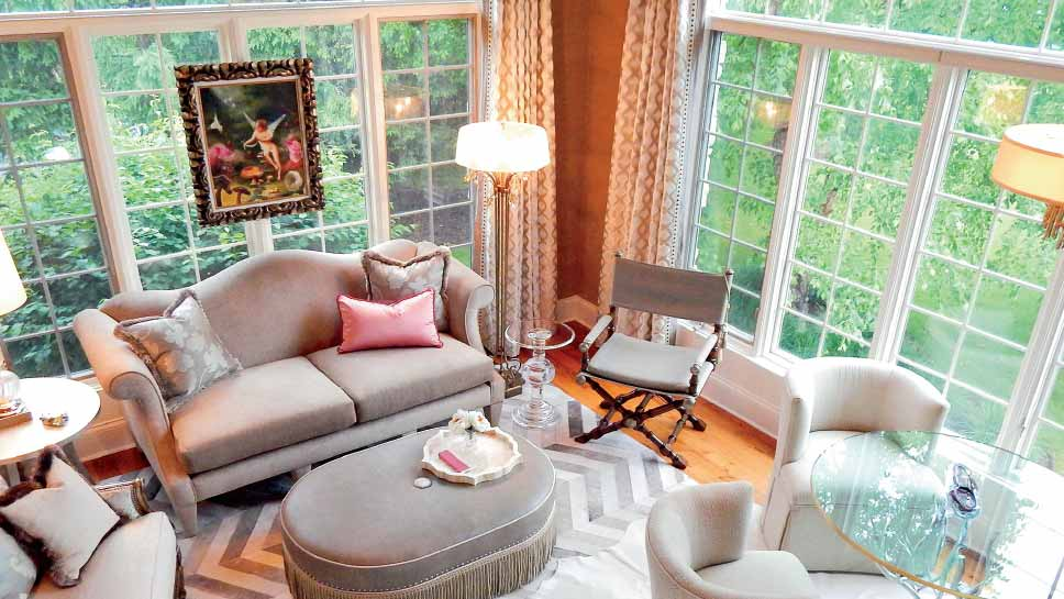 Photo for Artful Eye-Interior Design Resources  THE WOMAN CAVE: The first  inspiration for the project shown on these pages was the