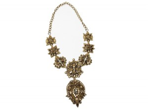 1202-crystal necklace