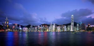 Harbour-Skyline Hong-Kong