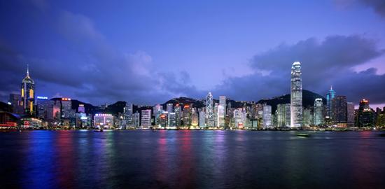 Harbour-Skyline Hong-Kong