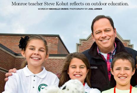 Monroe Teacher Steve Kohut