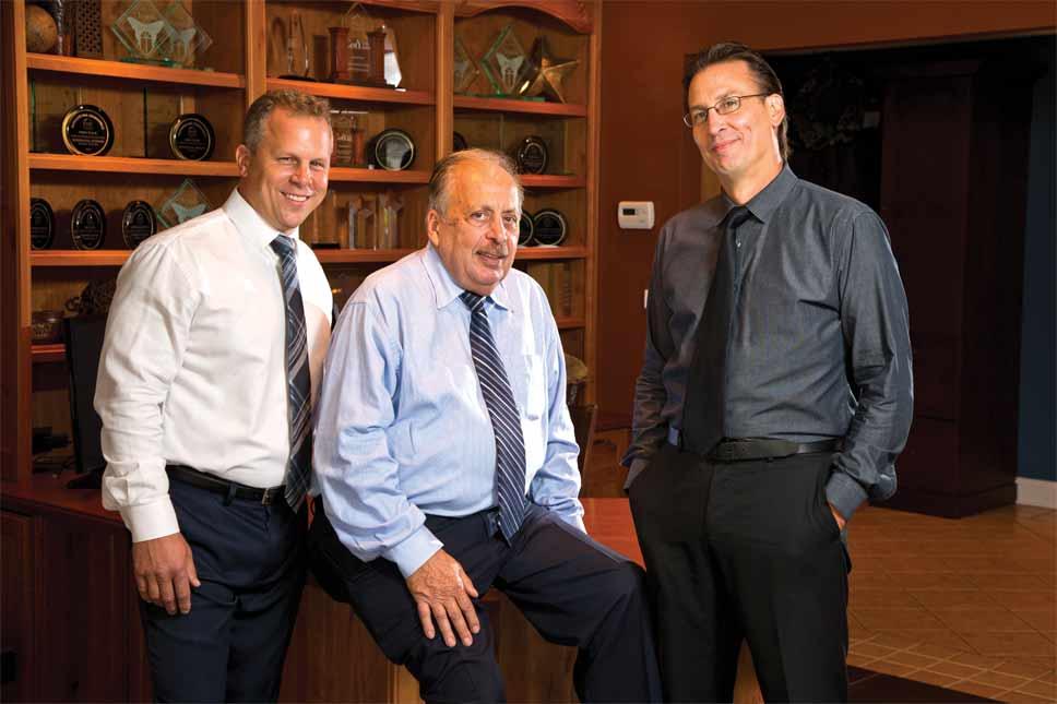 Andy LaMantia, Tony LaMantia, and Mike Gacek. PHOTOGRAPHY BY JOEL LERNER/JWC MEDIA