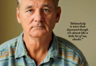Bill Murray melancholy