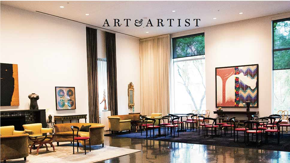 The Arts Club of Chicago celebrates its 100th anniversary. : PHOTOGRAPH BY ROBIN SUBAR