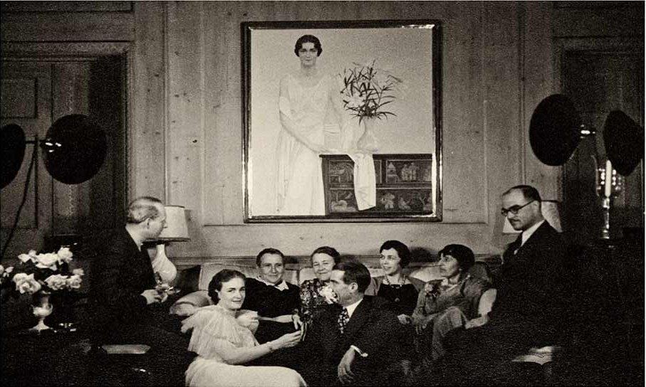 artsclubdinner1934