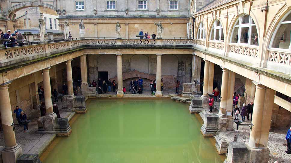 The Roman Baths, Bath UK