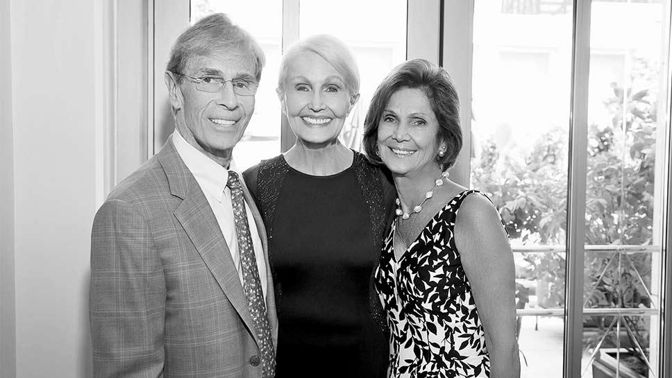 John Reilly, Hazel Barr, Myra Reilly PHOTOGRAPHY BY JOHN REILLY