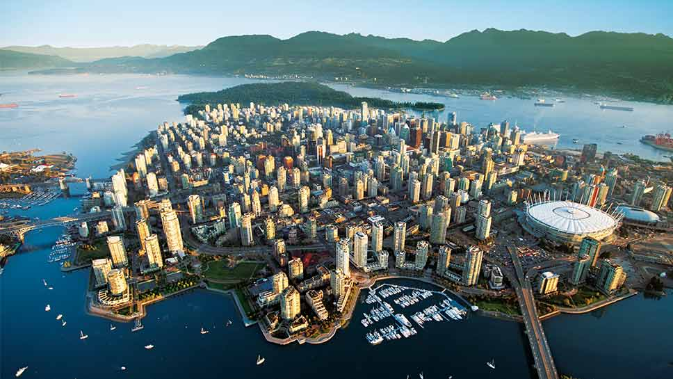 A frequent traveler shares thoughts of her first visit to Vancouver.
