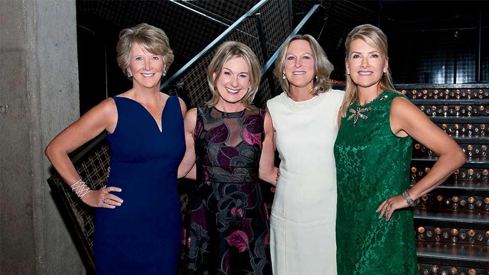 Kathleen Cowie, Liz Warnock, Julie Allen, Clea Costa Van Voorhis