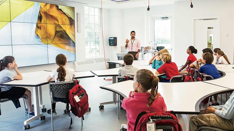 The Lake Forest Country Day School takes classroom innovation to the next level. PHOTOGRAPHY BY ROBIN SUBAR