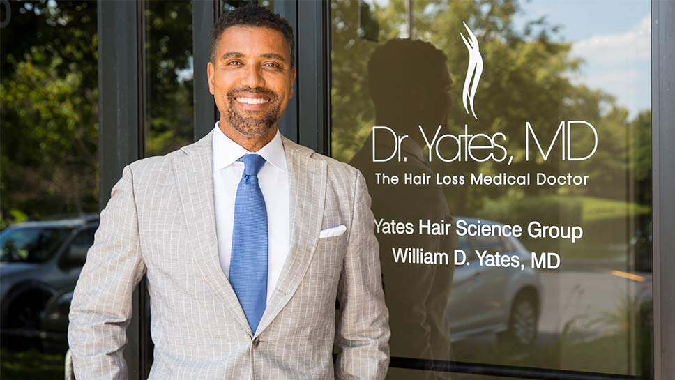 Renowned for his seamless hair restoration techniques, Dr. William Yates expands his services to offer many more appearance rejuvenation solutions under one roof. PHOTOGRAPHY BY ROBIN SUBAR