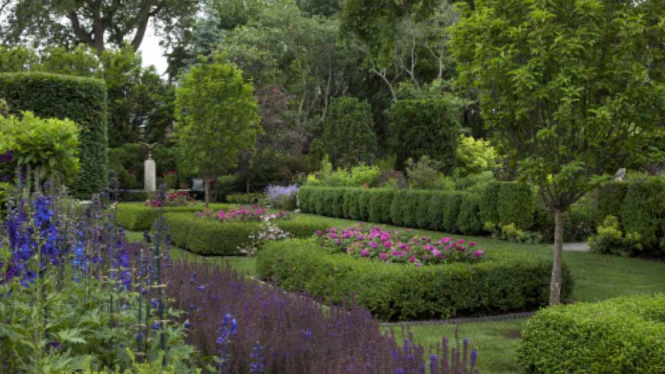The art of fine gardening for Fine gardens landscaping