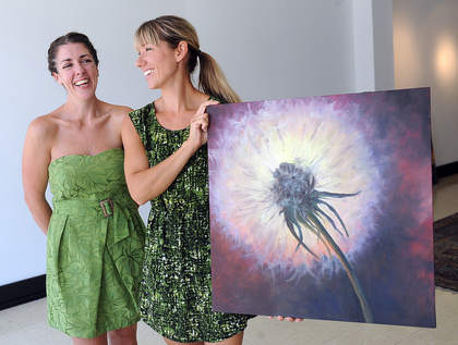 Dandelion Gallery in Waukegan: Emilie Dieck-Correa and Michelle Miscenic Patch
