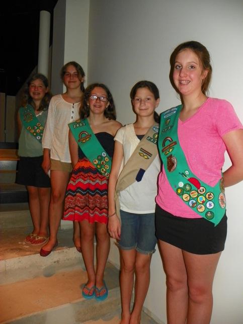 Deer Path Middle School Girl Scouts earn Silver Award
