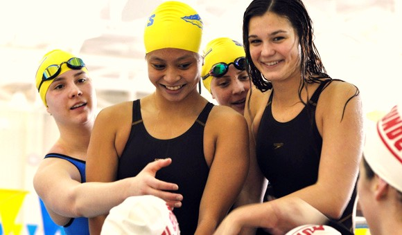 Lake Forest High School Swimmers Sweep Sectionals
