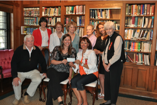Back row:  Beverly Raudabaugh, Helene Bernard, Mary Jane Hender, Cynthia Dale, Sandra Moran Front row:  Duane Wise, Rebecca Mullen, Rosemary Troxel