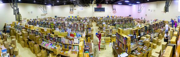 Expect this year's Friends of Lake Forest Library book sale to be even bigger!