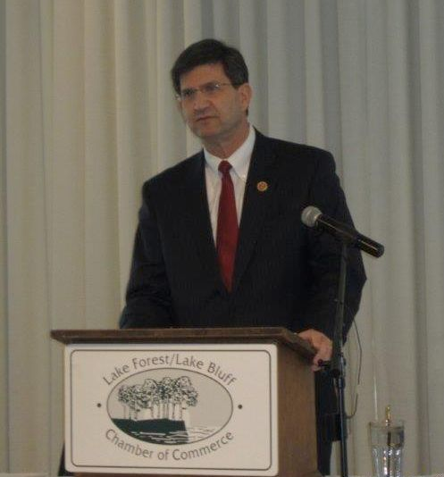 Former Rep. Brad Schneider; photo by A.J. Goldsmith