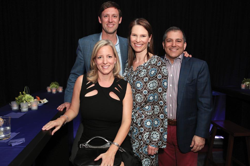Left to right: John & Diana Terlato, Lissa & Jason Kern. Photography by Robin Subar.