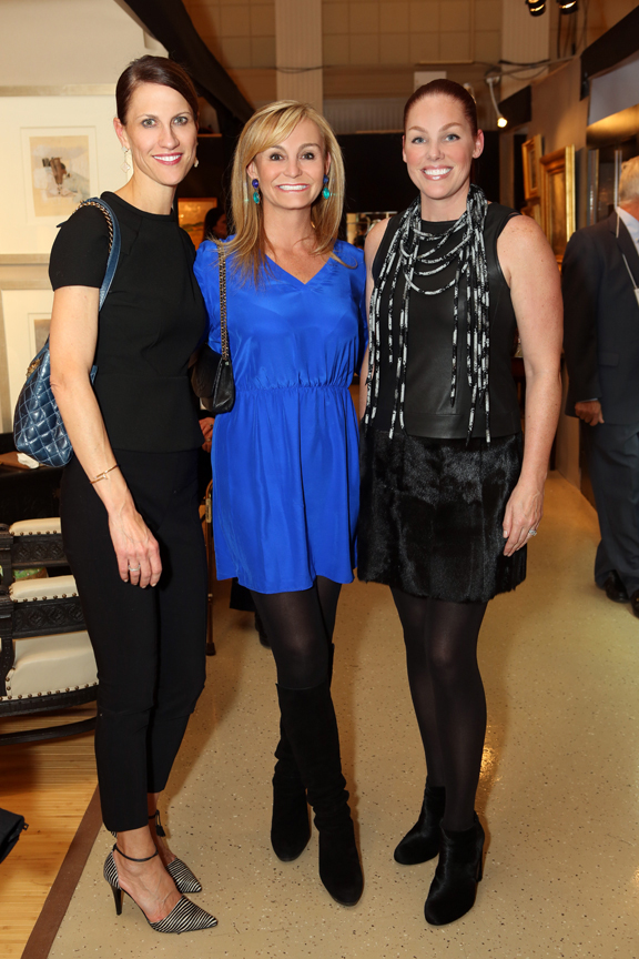 From left: Caroline Burns, Kathryn Mangel and Molly Randle