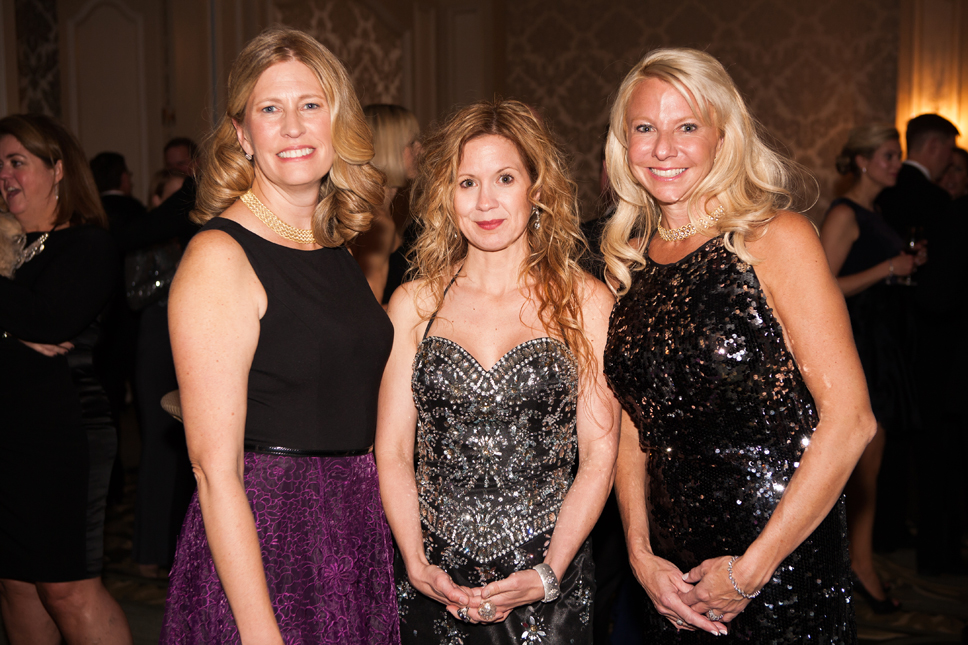 Theresa Malin, Kate Huff, Alyson Aron.