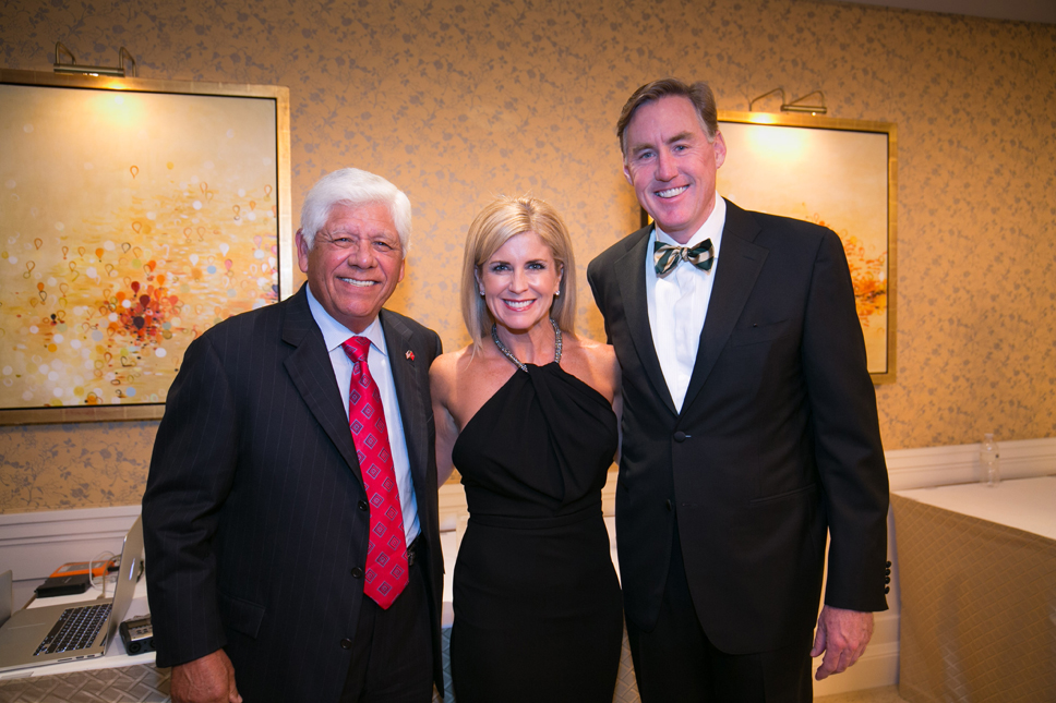 Tim and Stacey Cavanagh (Glenview) co-chairs of event with Lee Trevino