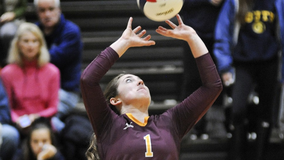 Loyola VB setting forth already — for next year