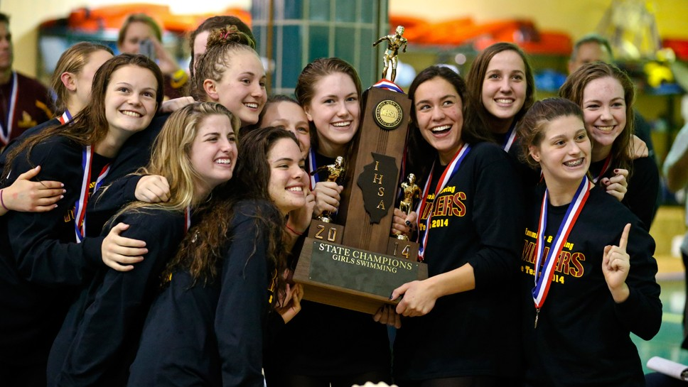 Oh Brothers! Loyola Wins State Swim Title