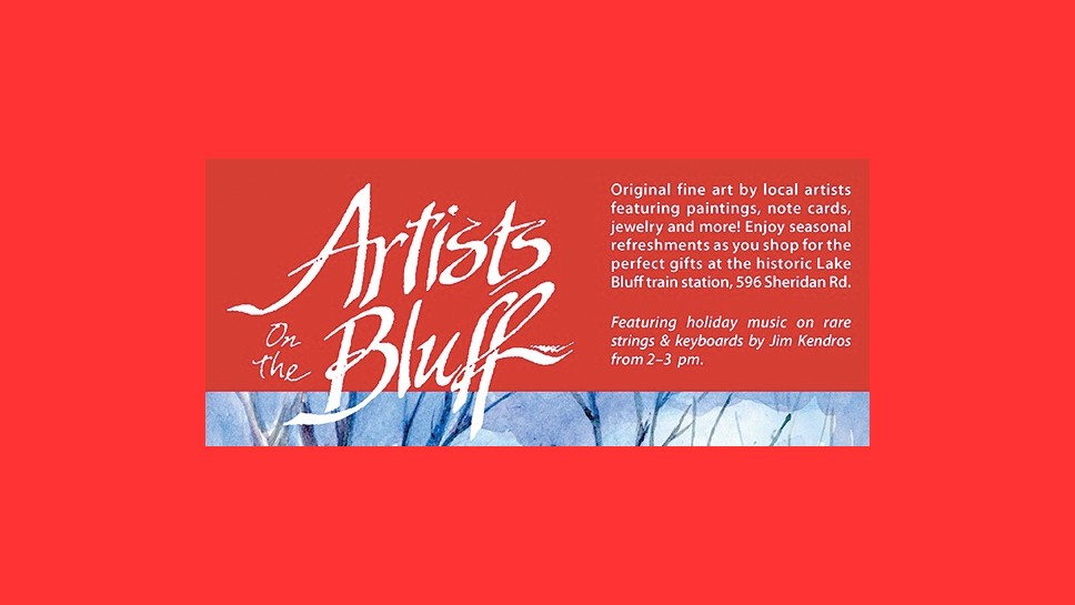 Artists on the Bluff Plans Holiday Art Show