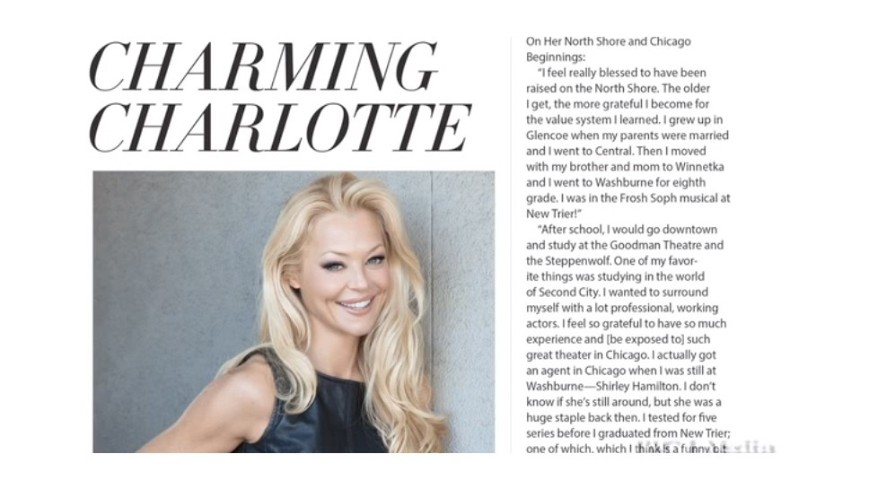 Charlotte Ross Audio Interview