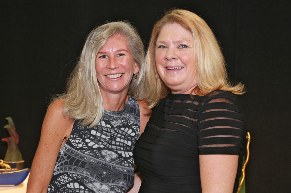 SUSAN WHITE, DEBBIE HULICK. Photography by Larry Miller