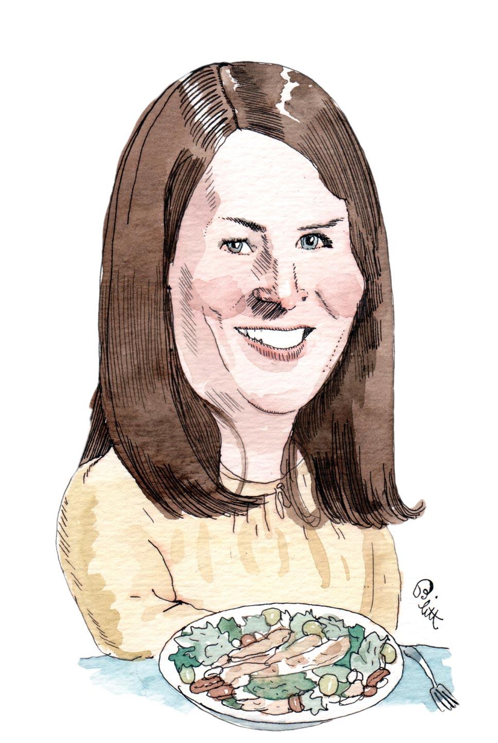 Katie Carden. Illustration by Barry Blitt