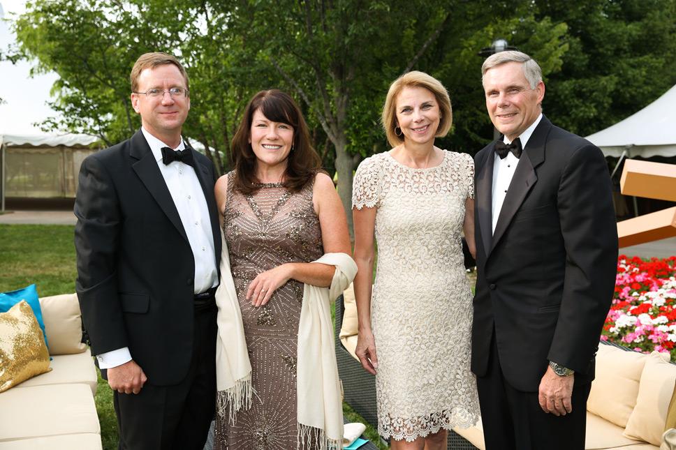 Chris & Julie Kennedy, Karen & Craig Hindman. Photography by Robin Subar
