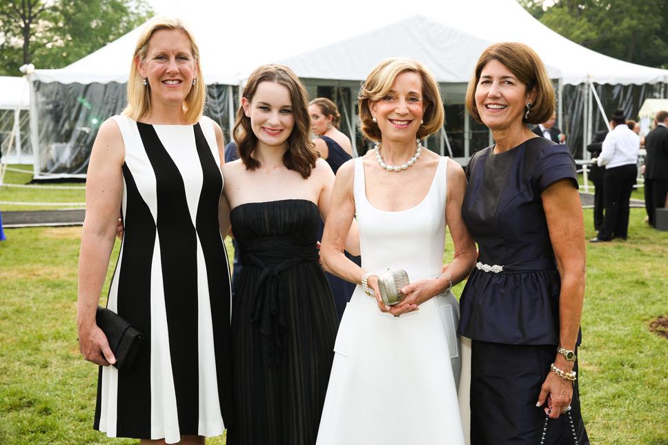 Nancy Rotering, Leah Ferguson, Betsy Pinkert, Bobbie Denison. Photography by Robin Subar