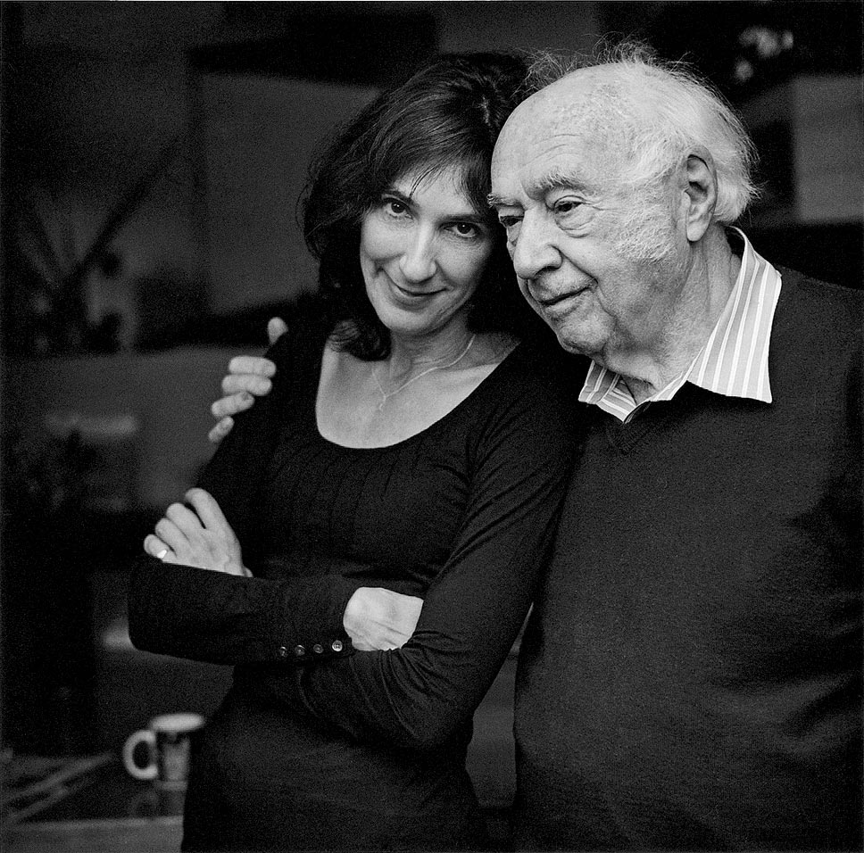 Gabrielle Selz with her father, Peter. Photography provided by Gabrielle Selz.