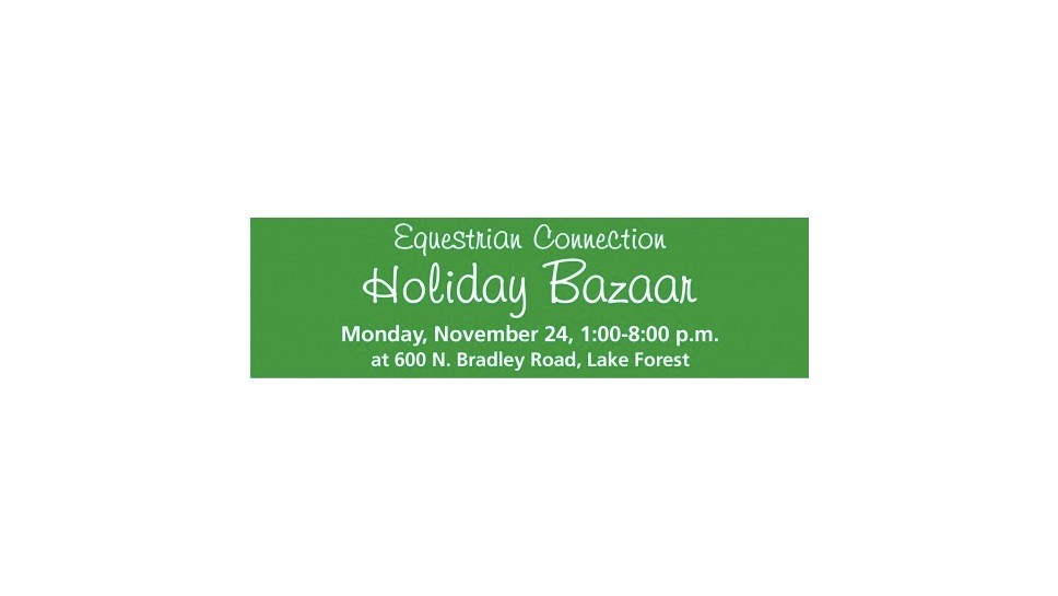 Equestrian Connection Holiday Bazaar Promises …