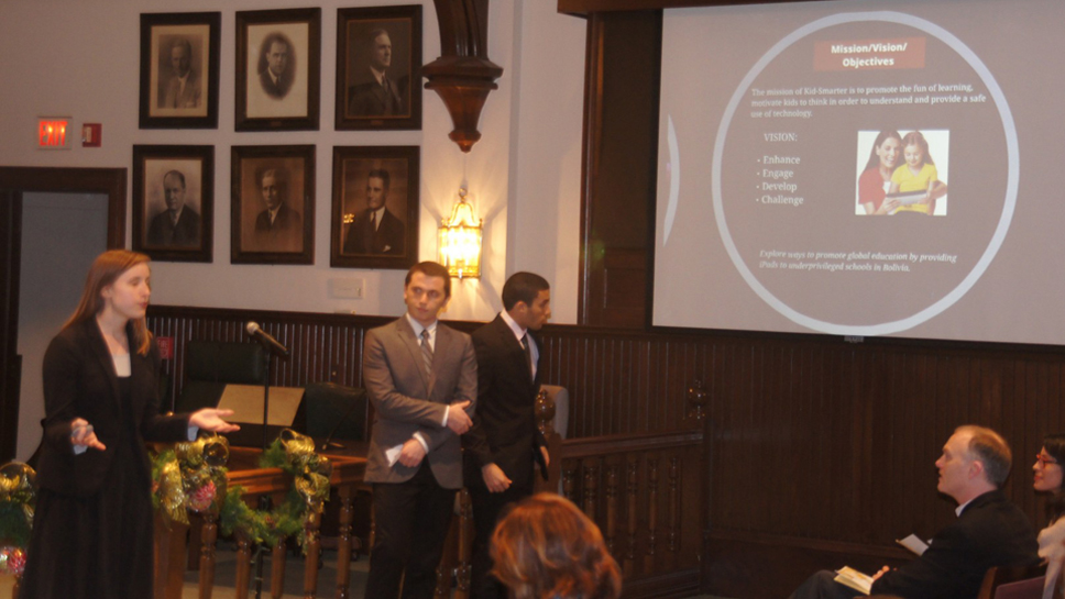 LFC students present at last year's event