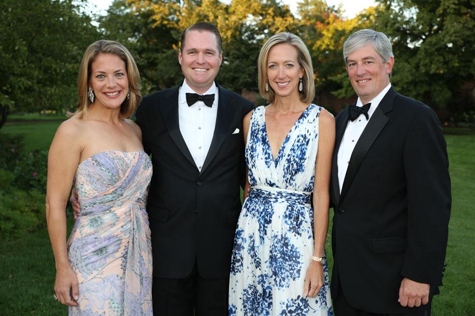 Karin & Stuart Larkins, Gloria & Michael Masterson