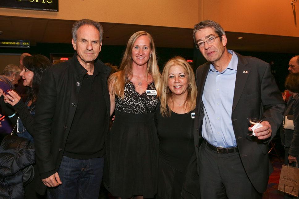 Avi Nesher, Rivka Zell, Cindy Stern, Roey Gilad