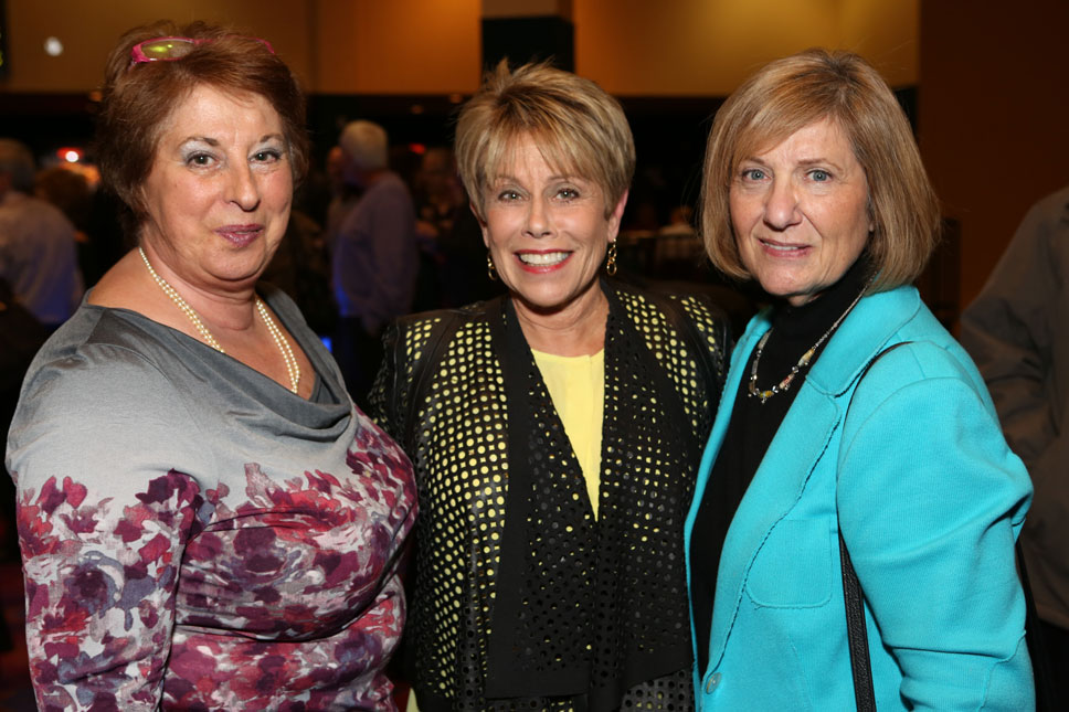 Jacqui Black, Judy Wolf, Betty Sobelman