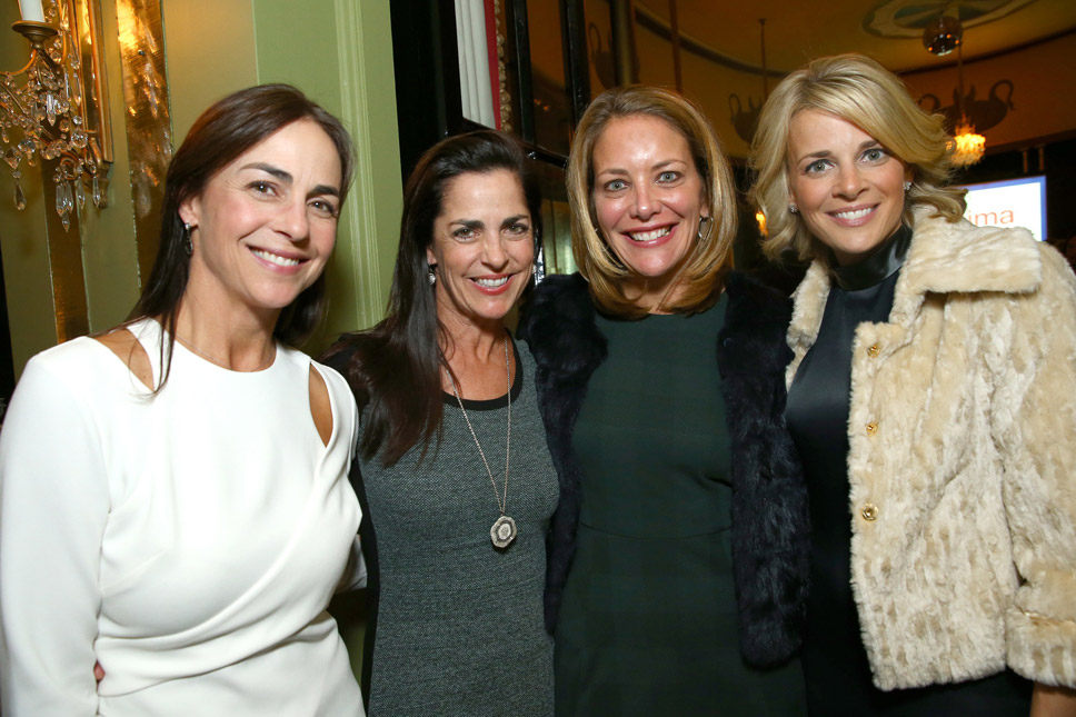 Cammie Hoban of Winnetka, Kim Urban of Winnetka, Karin Larkins of Winnetka and Jacque Nygaard of Winnetka