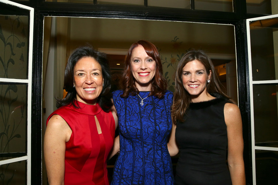 Event Co-Chairs Susan Chandler of  Lake Forest, Briana Fosnaugh of Chicago and Katie Donovan of Lake Forest