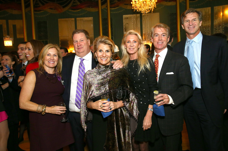Kate and George Spencer of Lake Bluff , Lisa and Michael Coleman of Texas and Kathy and John Ferguson of Lake Forest