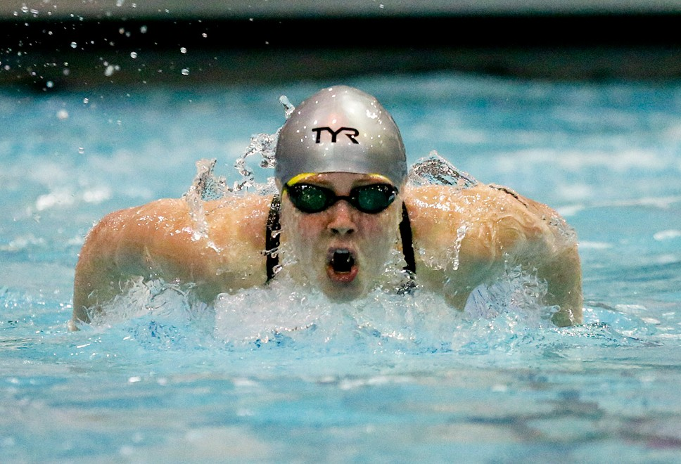 Oh so close: LF 4th at state swim