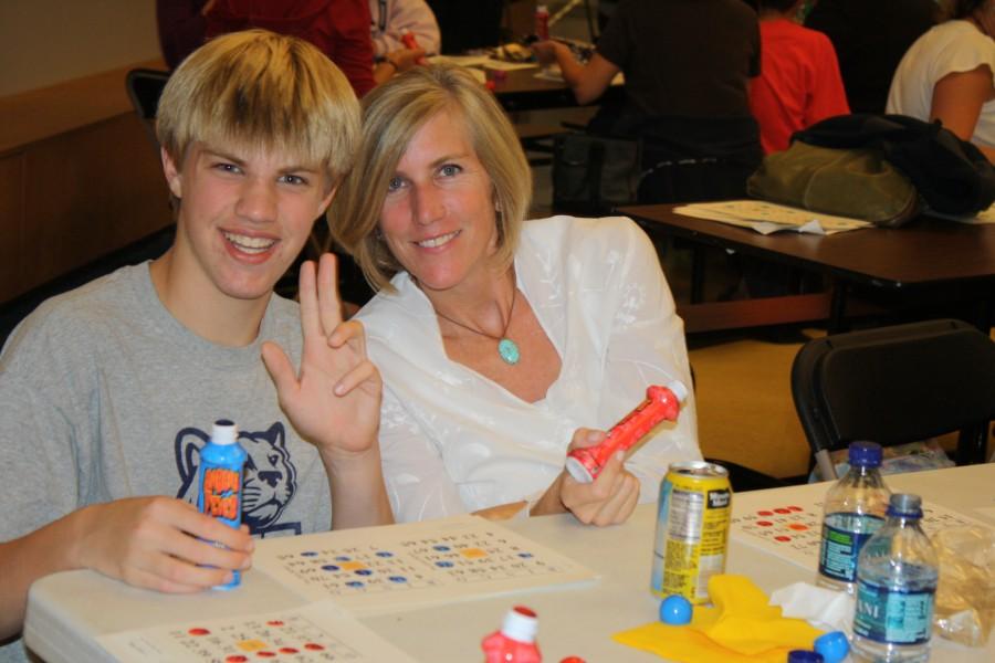Meg Barnhart and her son Doug