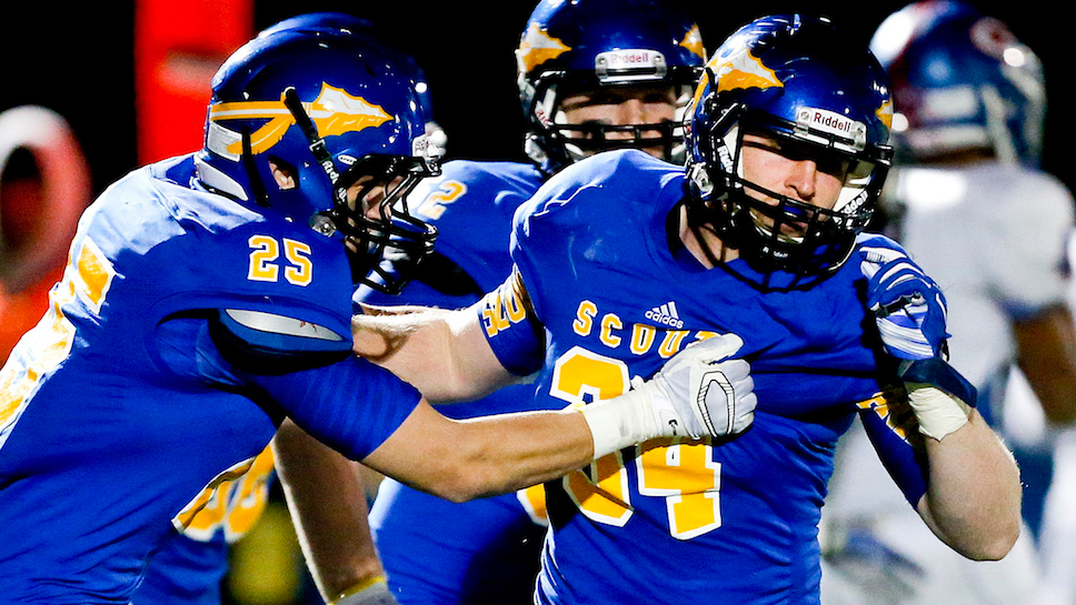 Lake Forest High School senior linebacker Jack Traynor capped off his three-year varsity career in record-setting fashion. According to the Illinois High School Association (IHSA), he is the state's all-time leading tackler (378). Prior to the season (September, 2014 issue), Traynor was featured in a Forest & Bluff's Personal Best column.