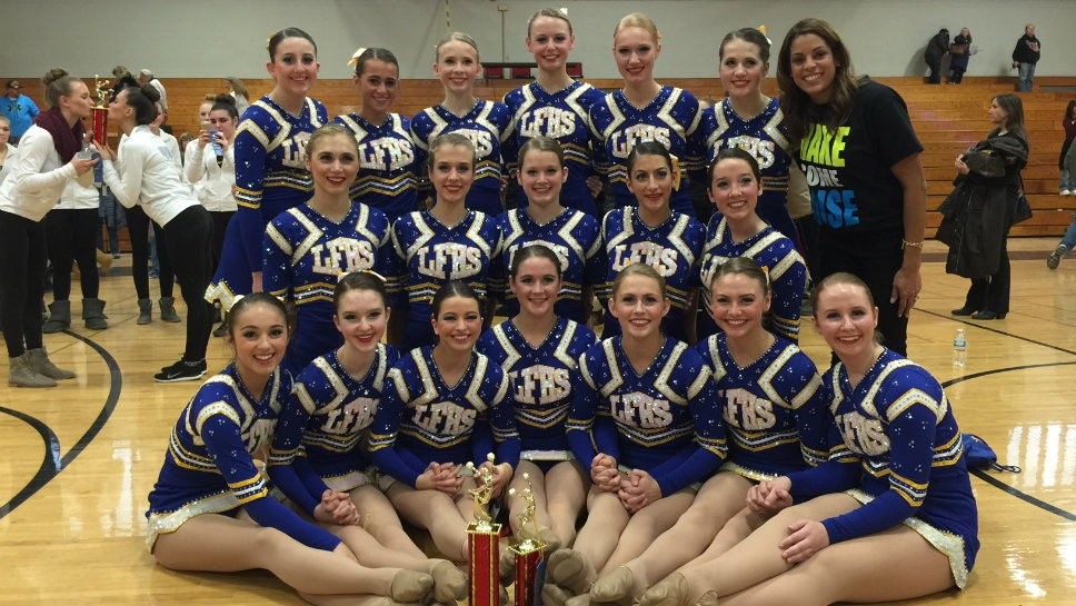 Lake Forest Dance Team Claims Titles